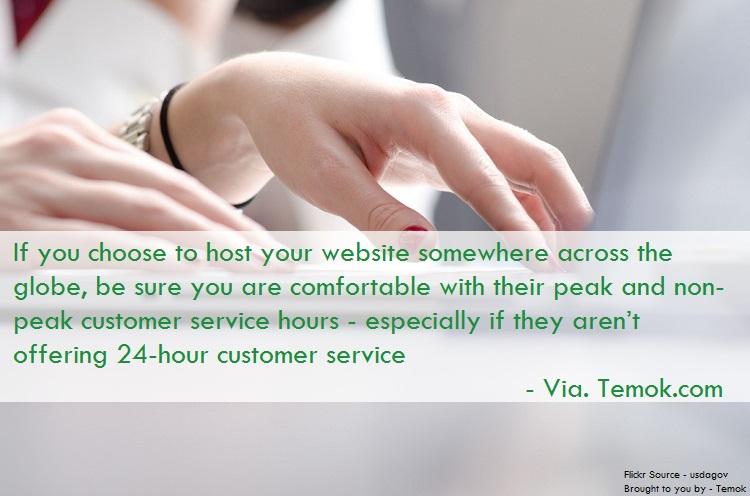 Customer Service Availability