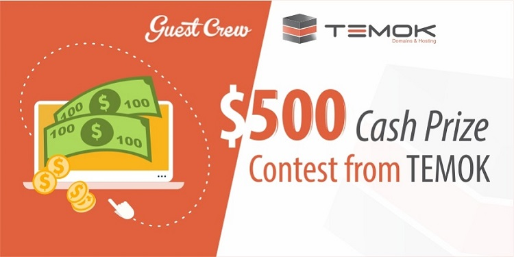 GuestCrew Temok Cash Giveaway Contest