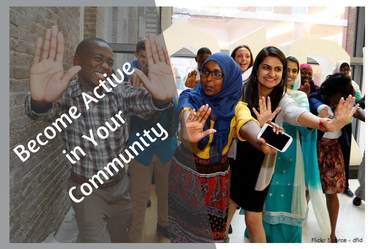 Become Active in Your Community