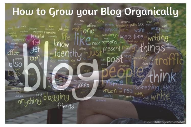 Grow Blog Organically