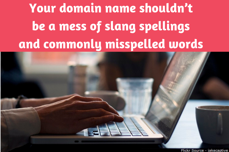 Domain Misspelled