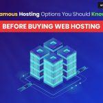 Web Hosting options