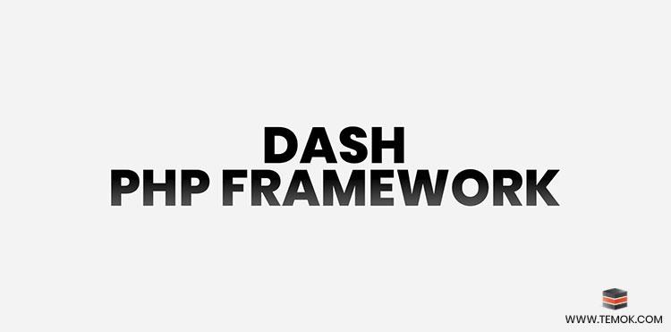 DASH PHP Framework