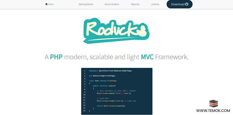 Roducks PHP MVC Framework