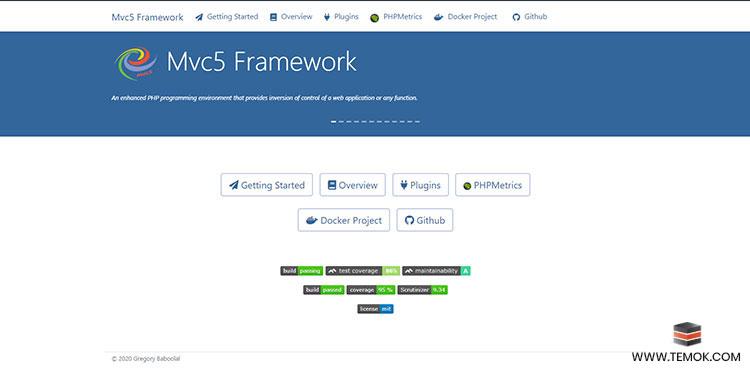 Mvc5 Framework