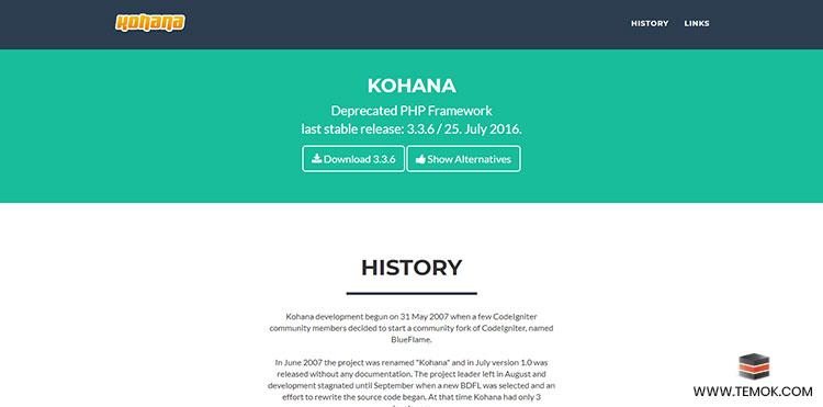 Kohana Framework