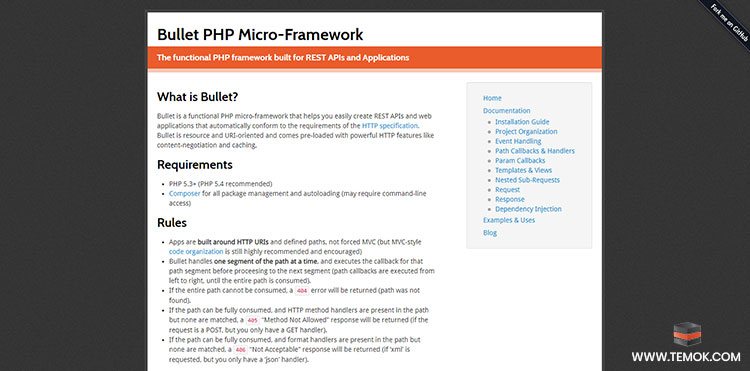 Bullet PHP Micro-Framework