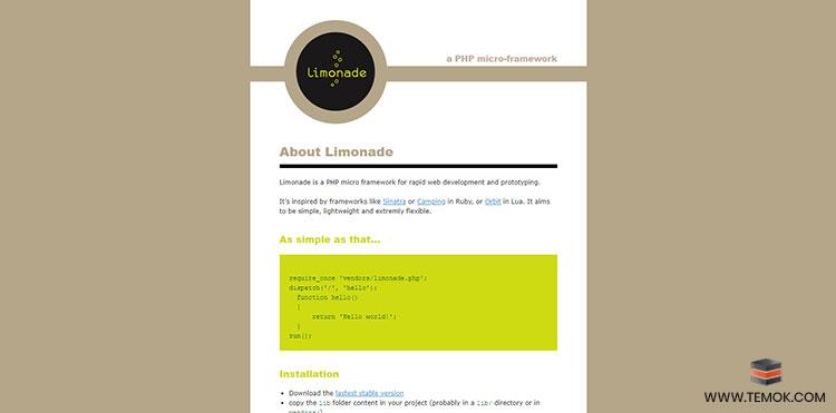 Limonade Framework