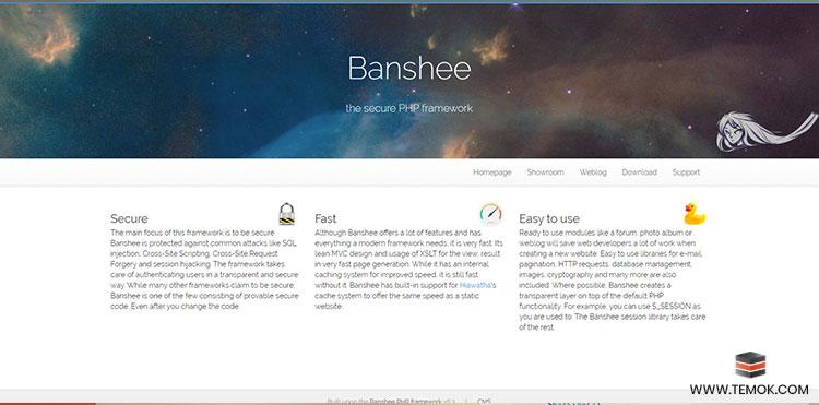 Banshee PHP framework