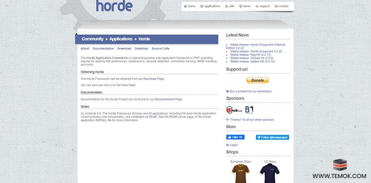 Horde Application Framework