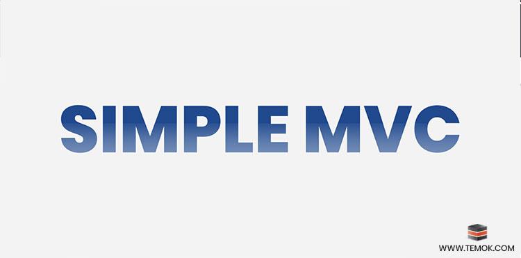 Simple MVC Framework
