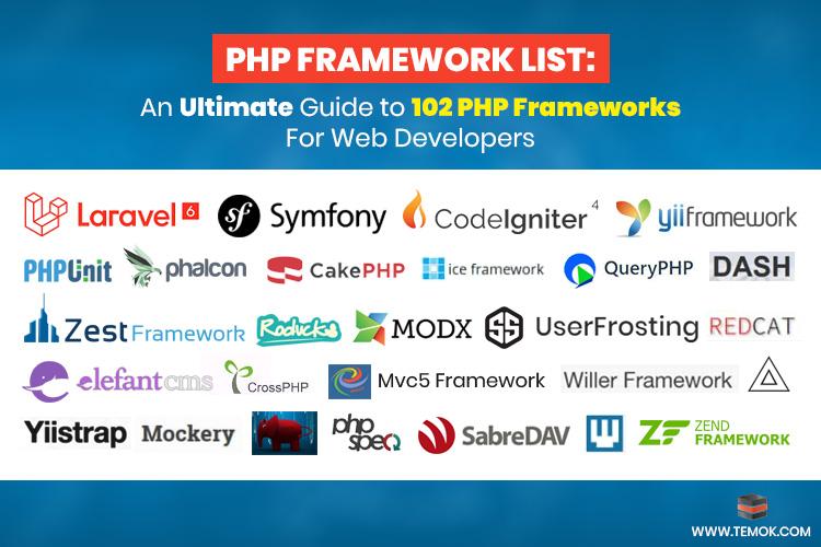 PHP Framework List