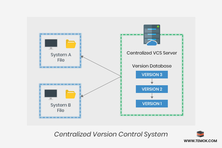 centralized version control system,