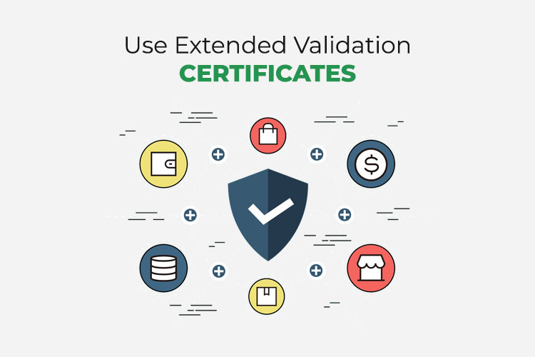 Use Extended Validation Certificates or SSL certificates