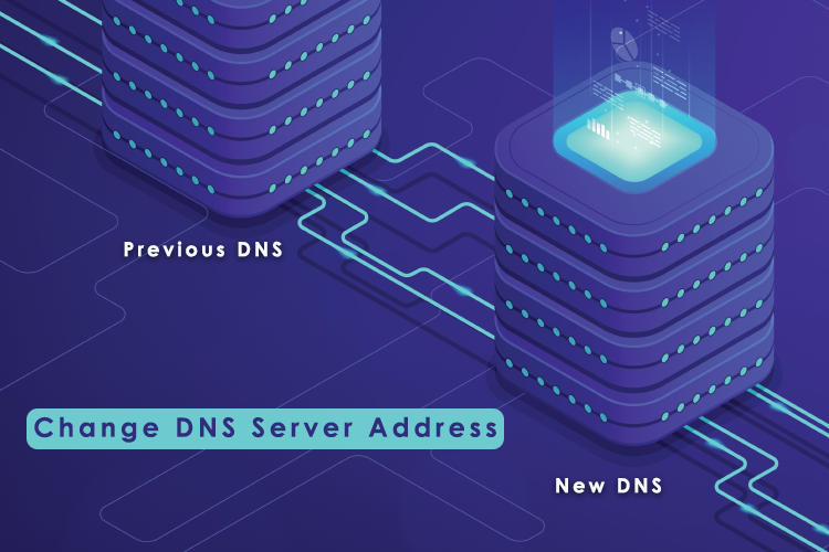 Change DNS Server Address