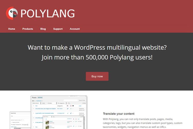 PolyLang WordPress Plugin