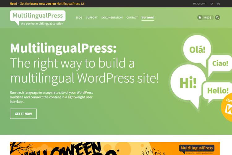 MultilingualPress WordPress Plugin