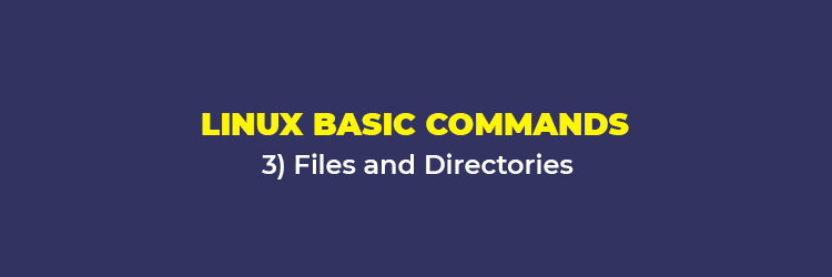 Linux Basic Commands: Files and Directories