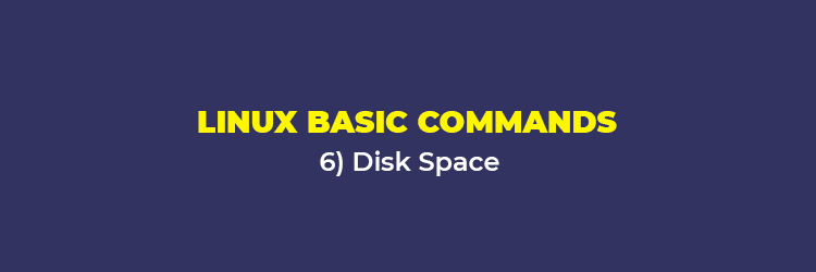 Linux Basic Commands: Disk space