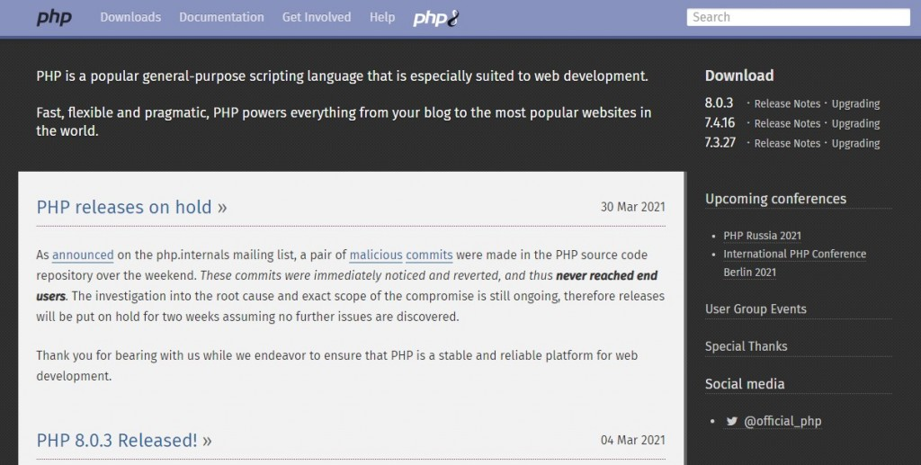"PHP (an acronym for ""PHP: Hypertext Preprocessor"")"