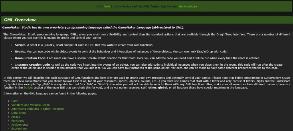 GML (Game Maker Language)