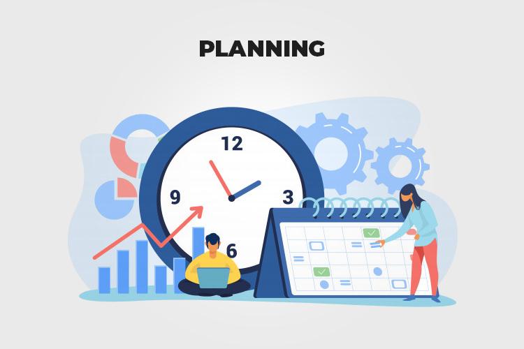 Web Project Management: planning