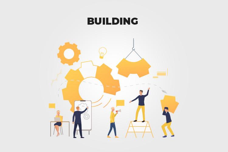 Web Project Management: building