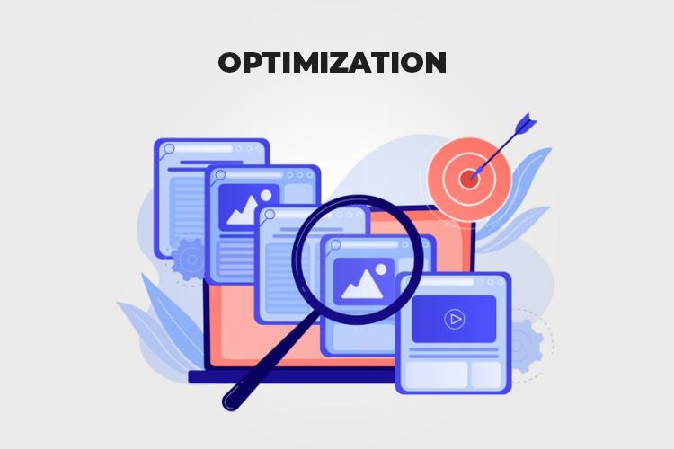 Web Project Management: Optimization