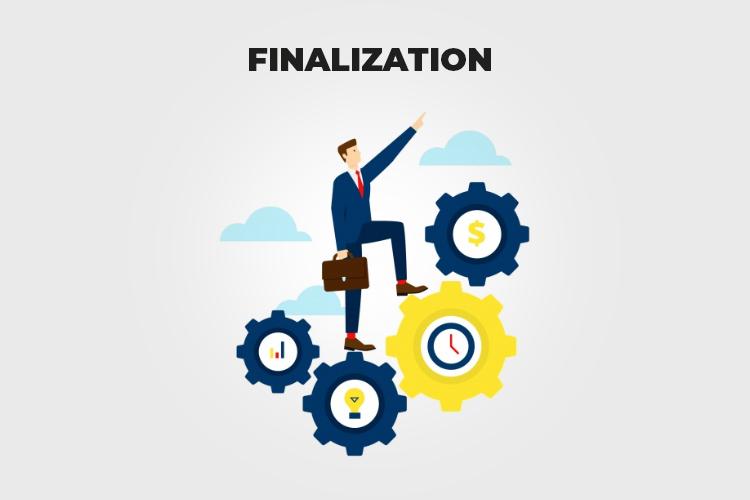 Web Project Management: Finalization