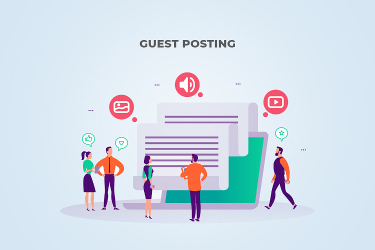 Emphasize on Guest Posting:
