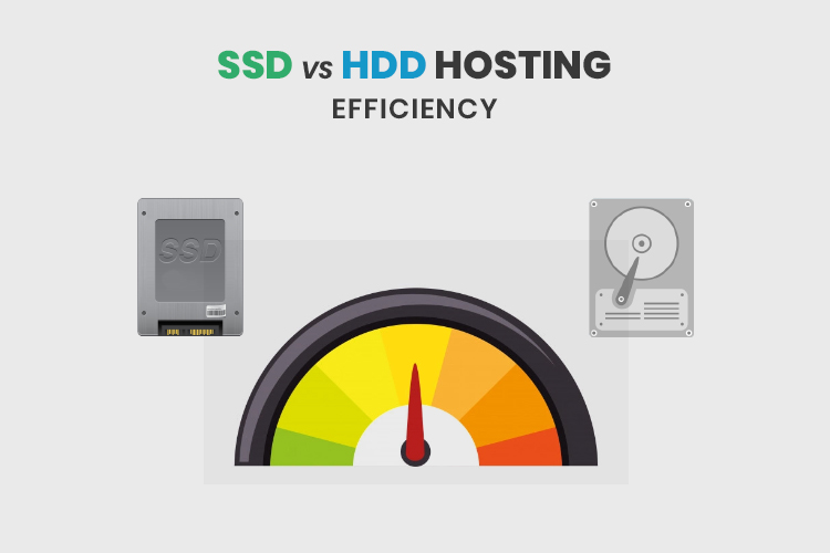 SSD vs HDD Hosting: Efficiency