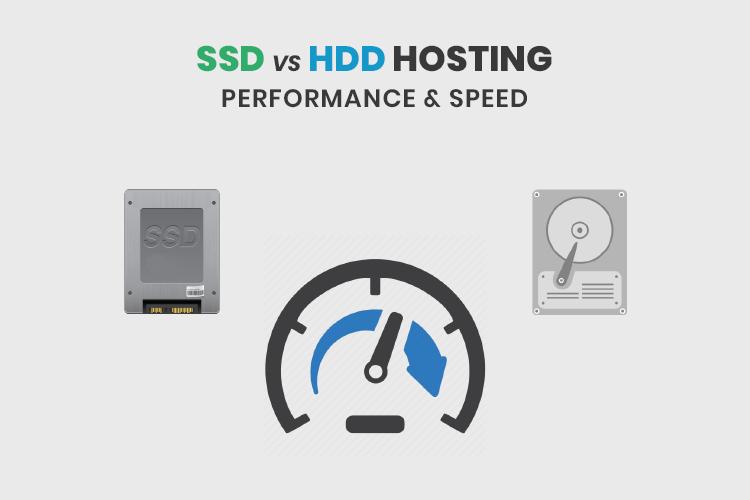SSD vs HDD Hosting: Performance & Speed