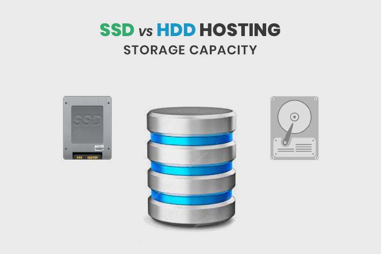 SSD vs HDD Hosting: Storage Capacity